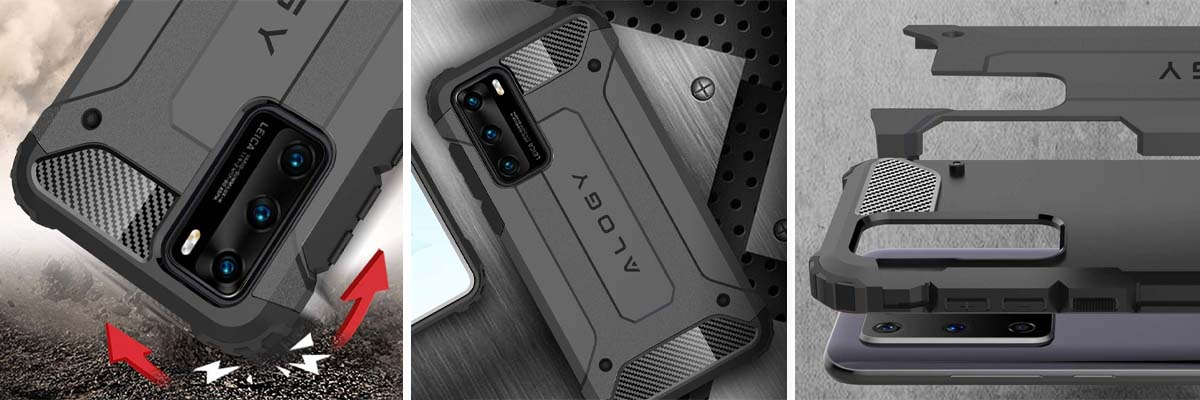 etui na telefon Huawei P40 ringke fusion x