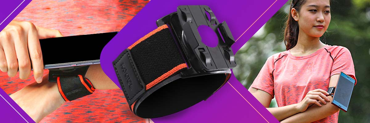 opaska sportowa opaska do biegania opaska na ramię na telefon
