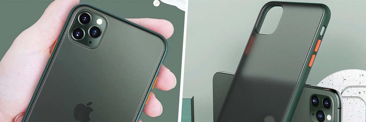 Zielone etui do telefonu iPhone