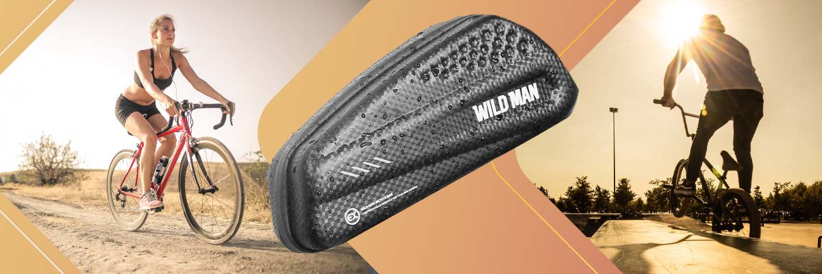 Etui torba sakwa na rower uchwyt rowerowy Wildman Bag