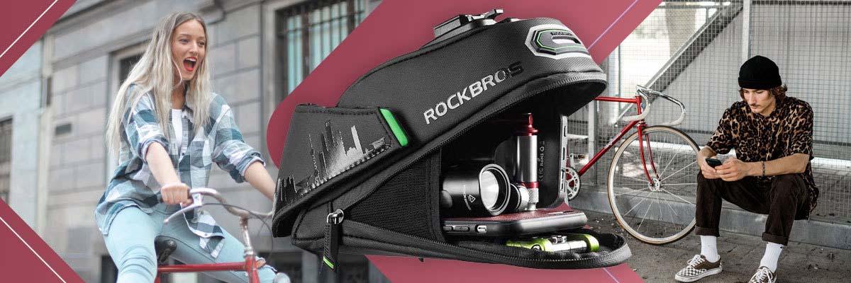 Wodoodporne etui rowerowe pod siodełko na narzędzia RockBros