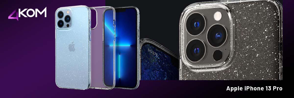 Etui obudowa Spigen Liquid Crystal do Apple iPhone 13 Pro Glitter Crystal