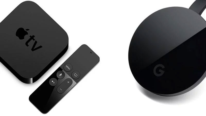 Apple TV i Google Chromecast