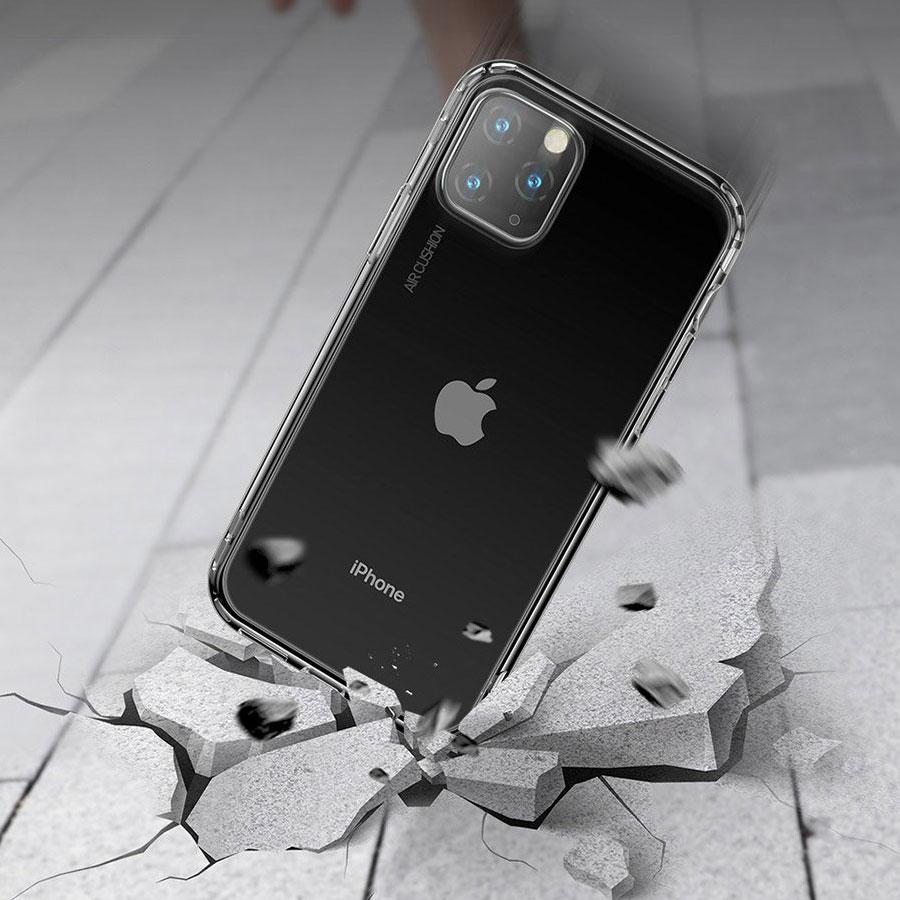 Etui na telefon Apple z widocznym logo