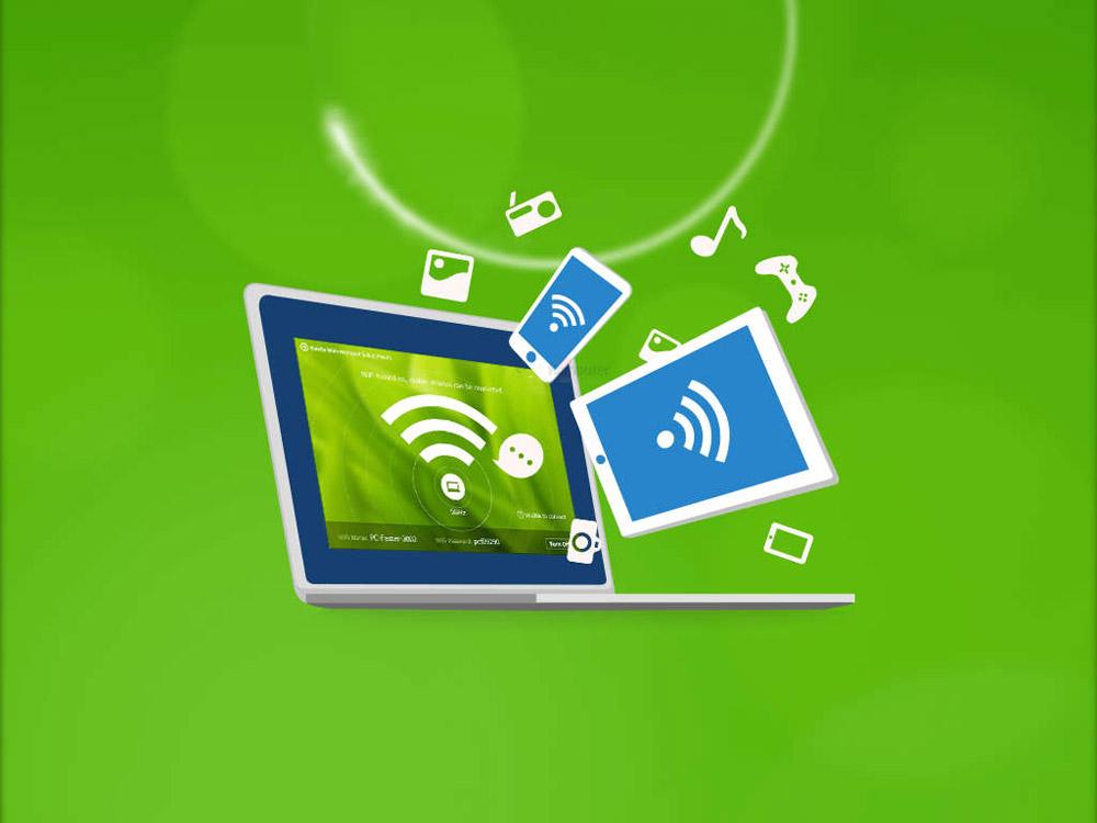 Połączenie hotspota Wi-Fi