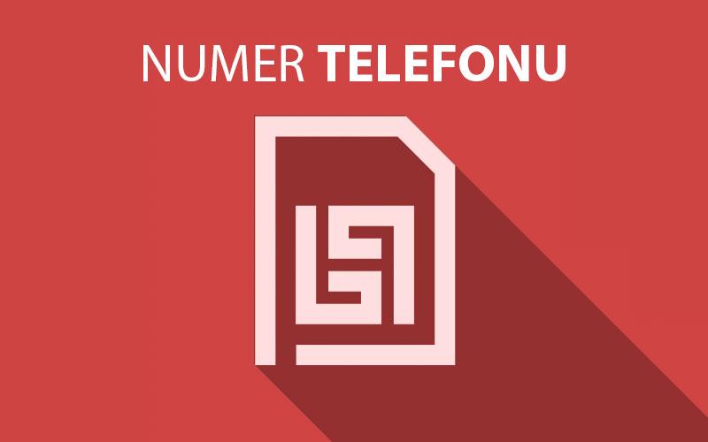 Numer telefonu SIM