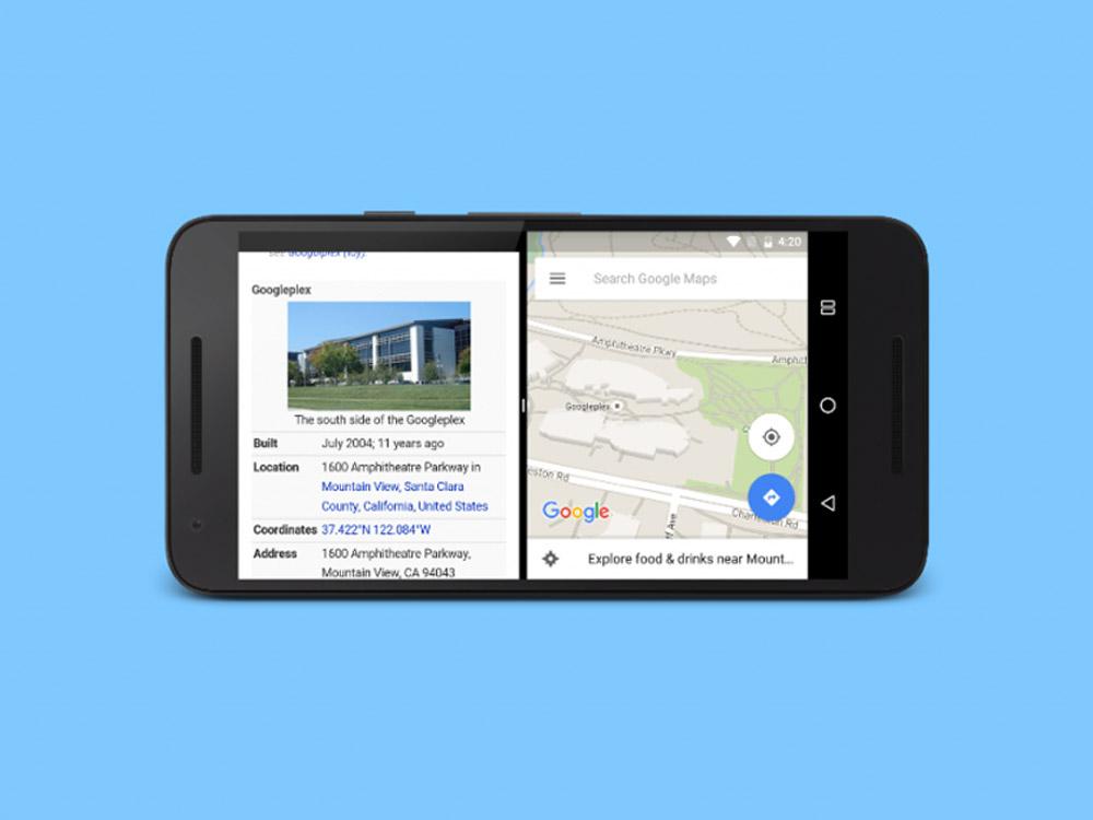 Ekran w telefonie z Androidem