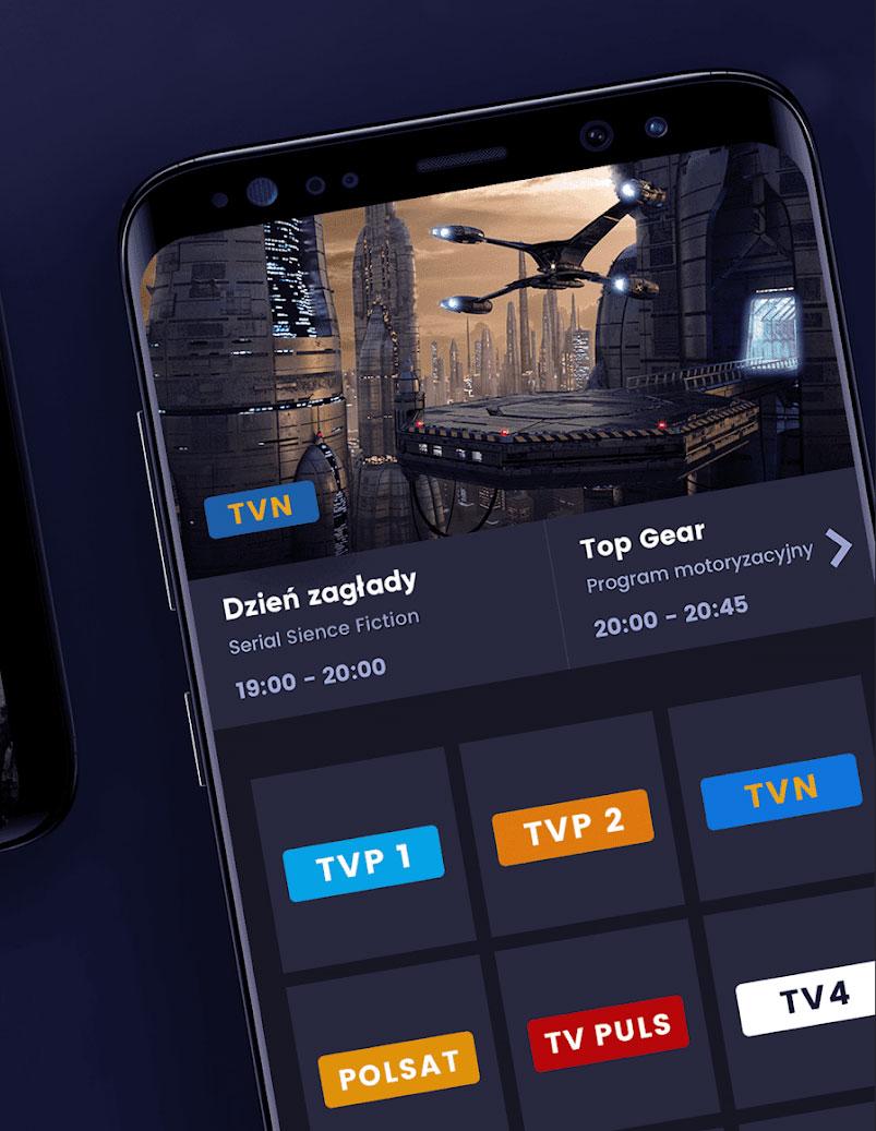Telewizja online w telefonie