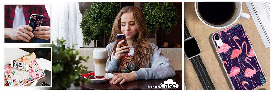 Etui silikonowe z nadrukiem dreamCase
