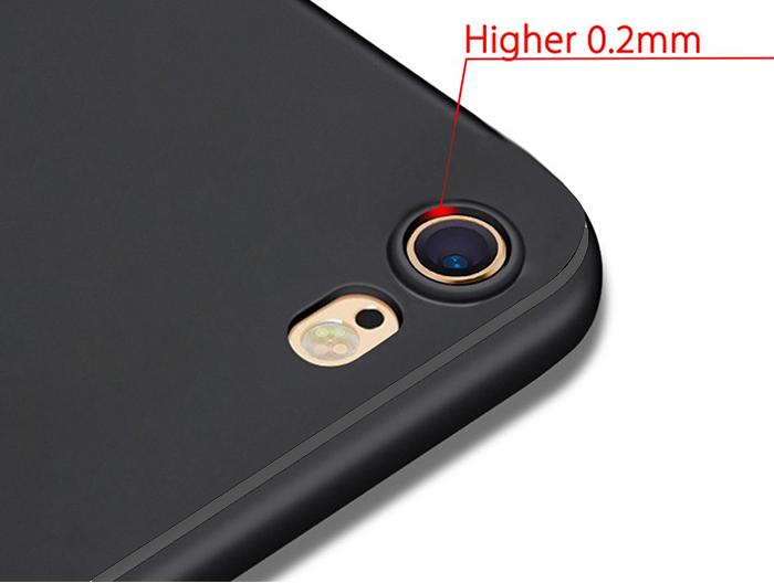 Etui Alogy silikon czarny slim case apple iphone 6/ 6S