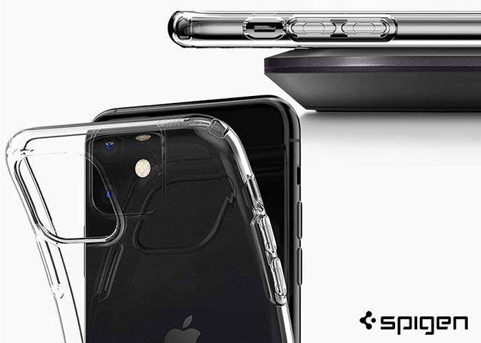 etui spigen case liquid crystal apple iPhone 11