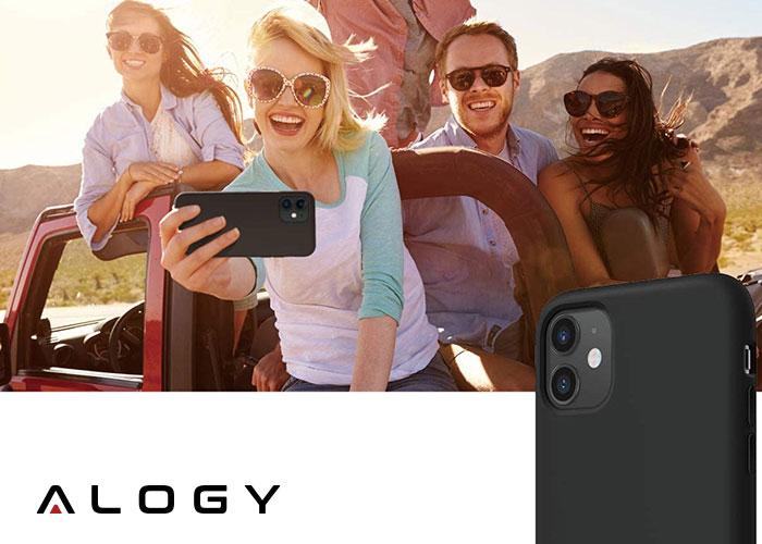 Etui Alogy silikon czarny slim case do apple iPhone 11