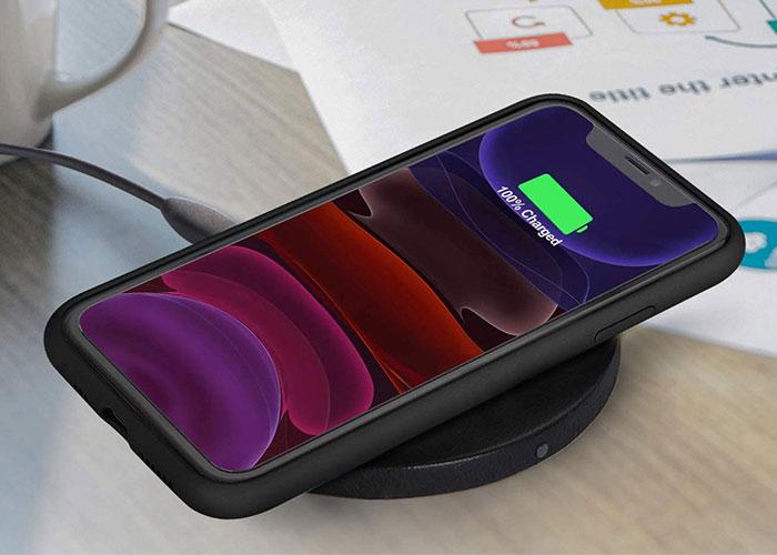Etui Alogy silikon czarny slim case do iphone 11 pro max