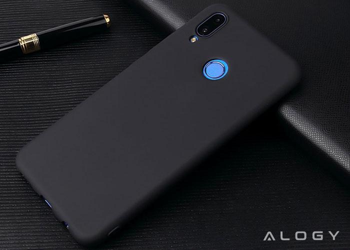 Etui Alogy silikon czarny slim case do Huawei P20 Lite