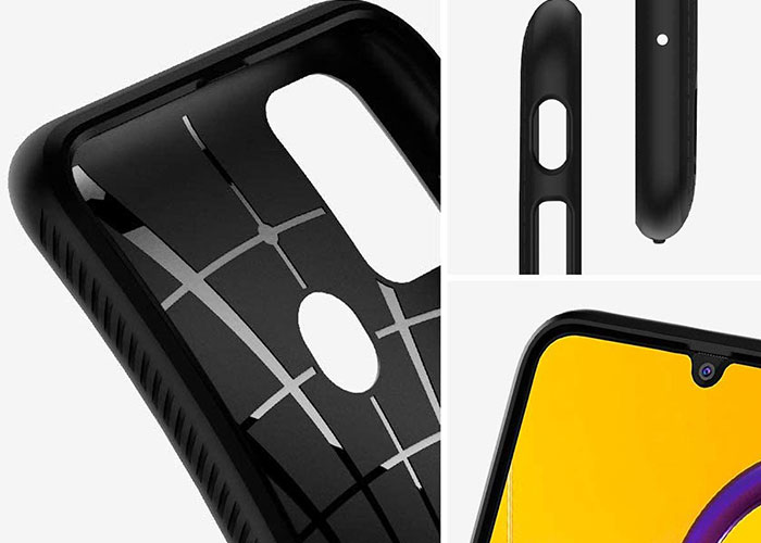 Etui Spigen Liquid Air do Galaxy M21