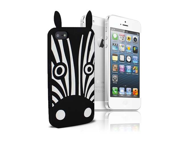 Etui 3D Zebra Marvin iPhone 5/5s