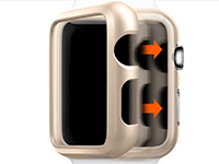 Oryginalne Etui Spigen Thin Fit do Apple Watch 42mm