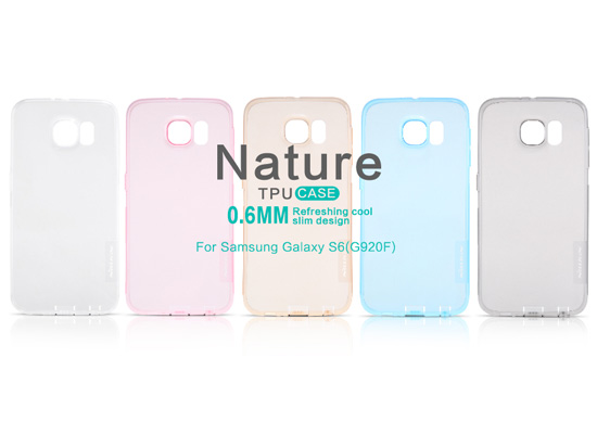 etui nillkin nature tpu do SAMSUNG Galaxy S6