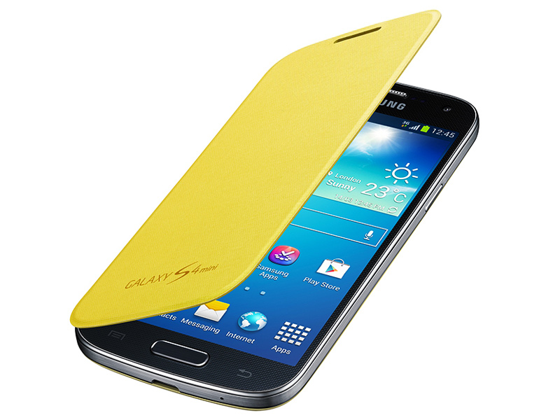 etui flip cover samsung galaxy s4 mini
