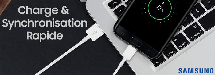 Oryginalne kable USB Samsung