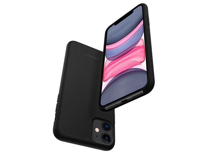 Etui Spigen Silicone Fit Apple iPhone 11