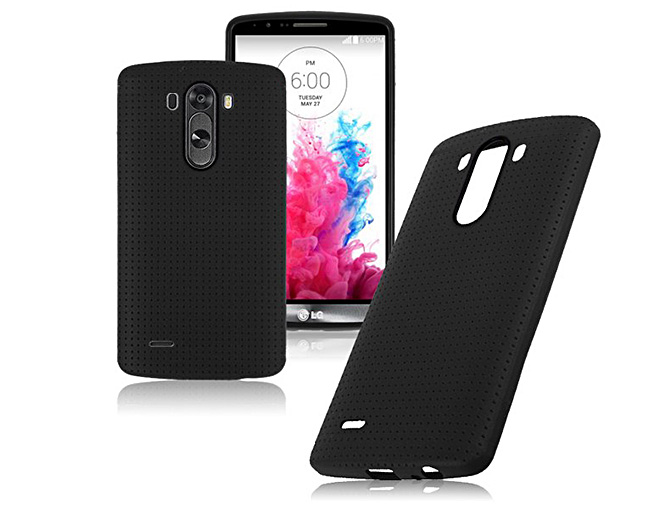 ETUI SILIKONOWE czarne DO LG G3 mini s beat