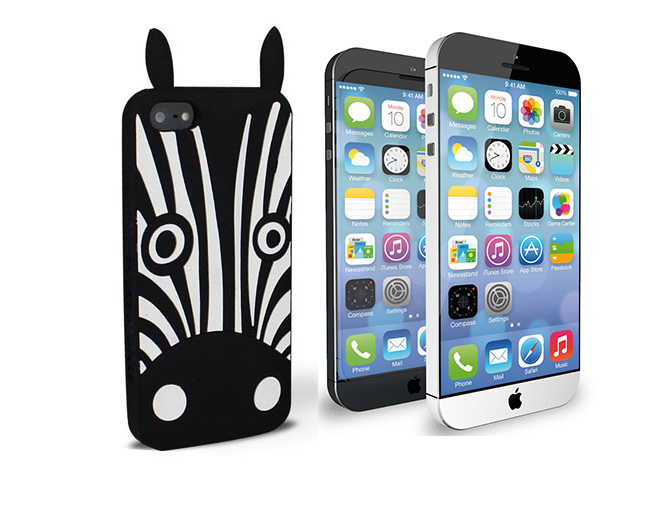 Etui 3D Zebra Marvin iPhone 6