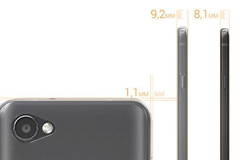 Etui LG Q6 Crystal Case