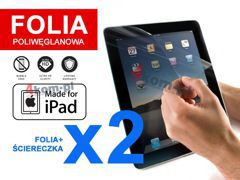 2x Folia ochronna na ekran do iPad 2, 3, 4