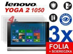 3x Folia ochronna na ekran do Lenovo Yoga 2 1050