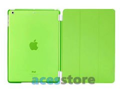 6w1- Przezroczyste Back Cover + Smart Cover + 2x folia + rysik + ściereczka do iPad Mini 2 3