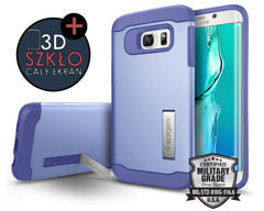 ETUI Spigen SGP Slim Armor do samsung galaxy S6 edge + Plus VIOLET + Szkło 3D