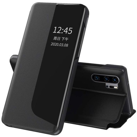 Etui portfel Alogy Smart View Cover do Huawei P30 Pro Czarne