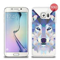 Etui silikonowe z nadrukiem Samsung Galaxy S6 Edge Wilk tattoo 079b01d3faa5