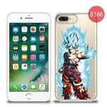 Przezroczyste etui z nadrukiem iPhone 7 Plus - Dragon Ball 78319179a269