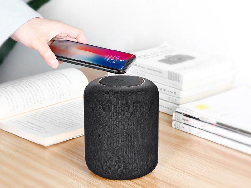 Baseus Encok E50 2w1 Głośnik Bluetooth ładowarka Indukcyjna qi