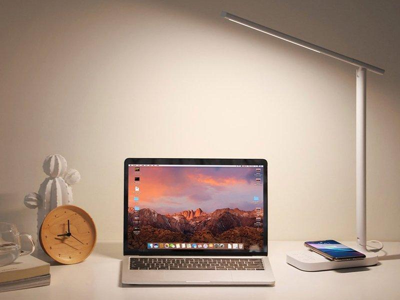 Baseus Lett biurkowa lampa lampka LED ładowarka indukcyjna