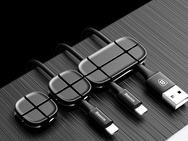Baseus organizer do kabli Cross Peas Cable Clip