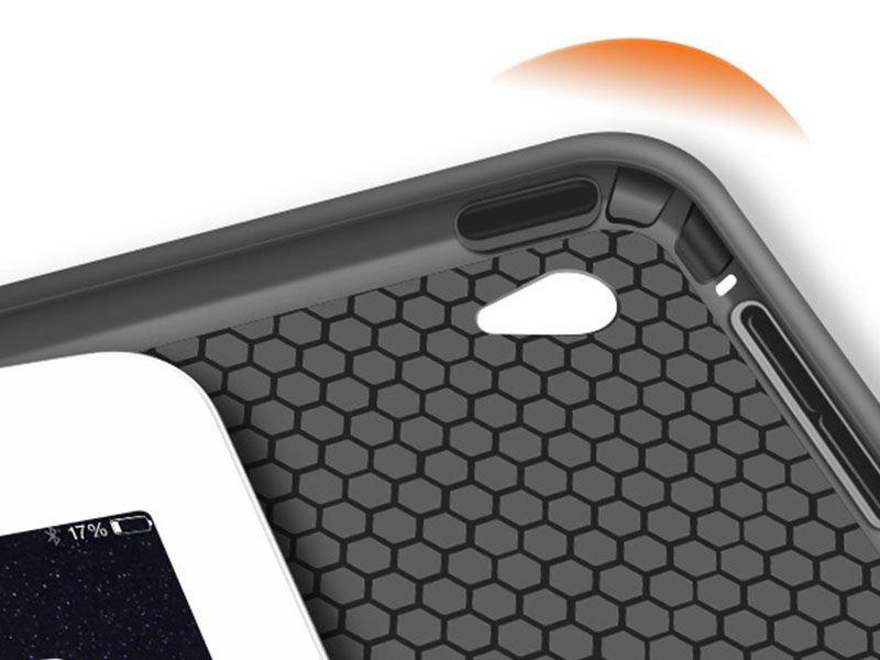 etui alogy smart case apple ipad air 2 silikon czarne. Black Bedroom Furniture Sets. Home Design Ideas
