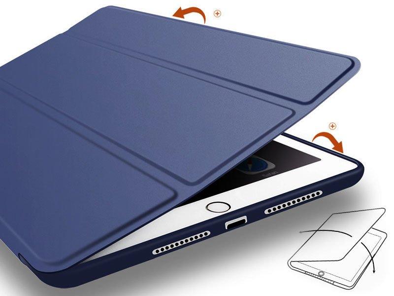 etui alogy smart case apple ipad air silikon granatowe. Black Bedroom Furniture Sets. Home Design Ideas