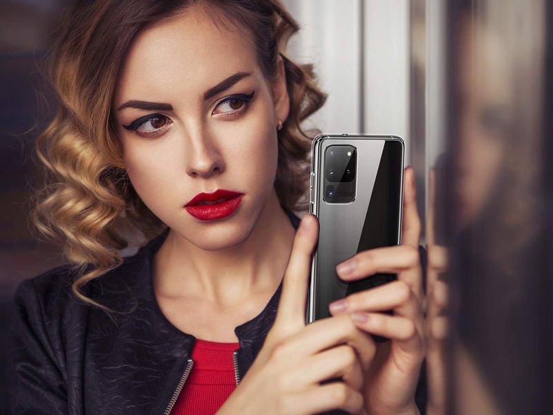 Etui PURO 0.3 Nude do Samsung Galaxy S20