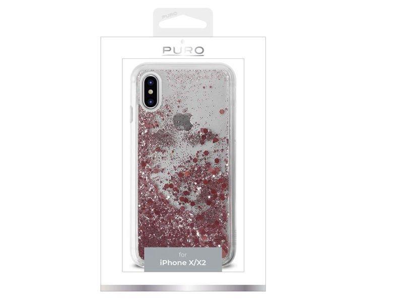 Etui PURO Aqua Winter Cover Apple iPhone X/Xs