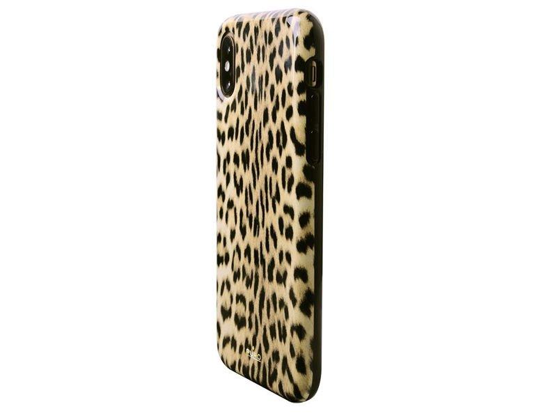 Etui PURO Glam Leopard Cover Apple iPhone X/Xs