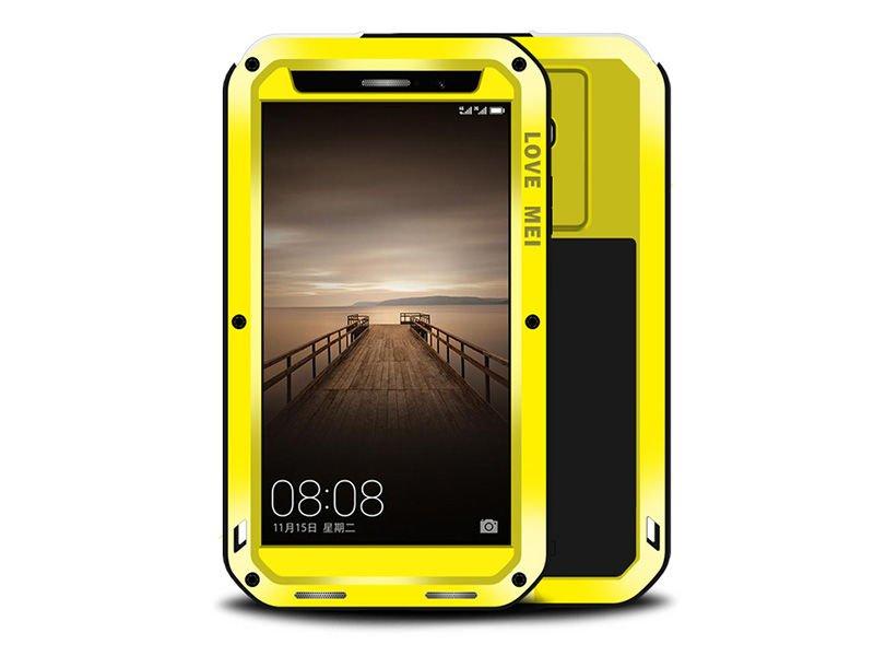 a0a5bb4f885 Etui Pancerne Love Mei Powerful Huawei Mate 9 żółte - 4kom.pl