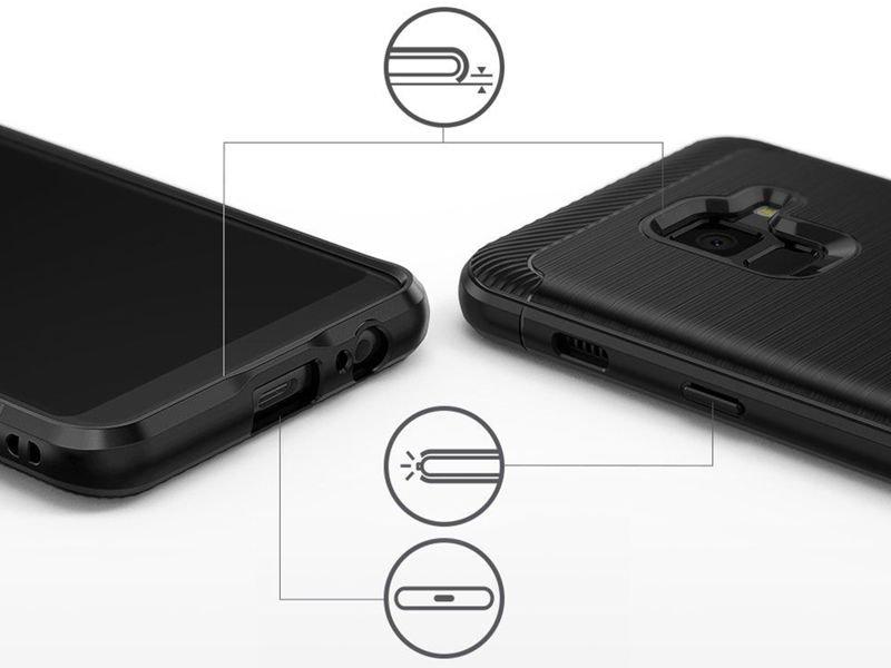 Etui Ringke ONYX do Samsung Galaxy A8 2018 Black