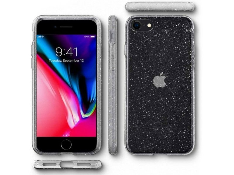 Etui Spigen Liquid Crystal Glitter do iPhone SE 2020