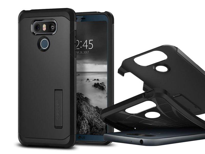 hot sale online ed428 53414 Etui Spigen TOUGH ARMOR™ LG G6 Black