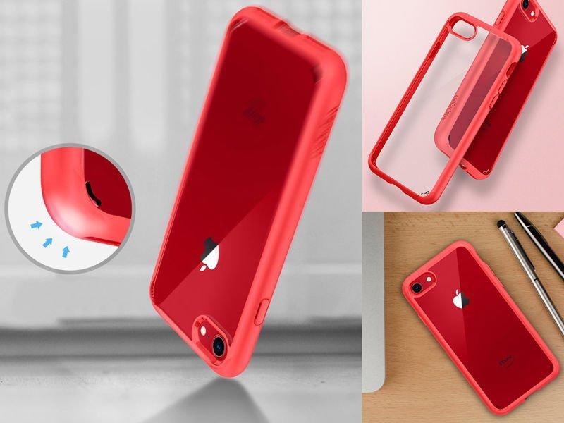 Etui Spigen Ultra Hybrid 2 Apple iPhone 78SE 2020 Red