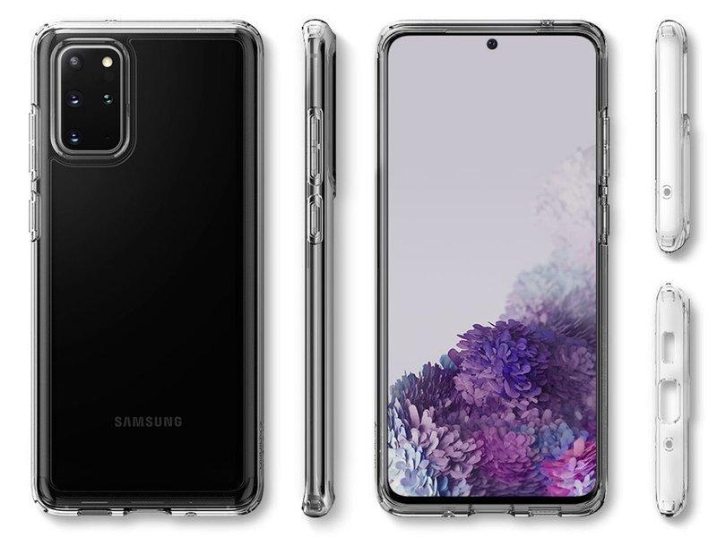 Etui Spigen silikonowe Galaxy S20 Plus