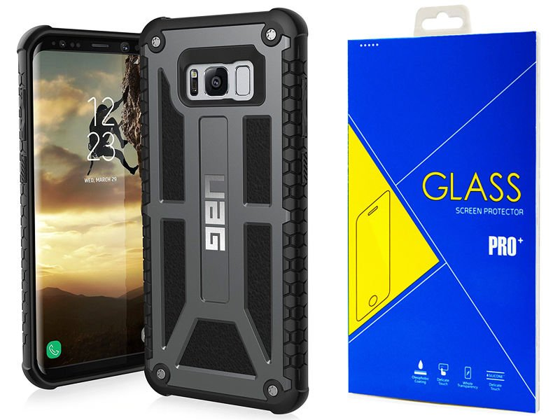 pretty nice 00811 8e696 Etui Urban Armor UAG Monarch Samsung Galaxy S8+ Plus + szkło